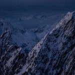 Twilight on Rugged Peaks - Scott Rinckenberger