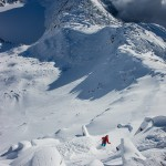 Shredding Hidden Lake Peak - Scott Rinckenberger