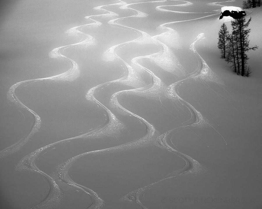 February-Party-of-four-skiers-Stuart-Range-Washington-Cascades