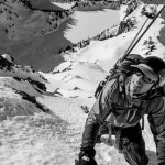climber-and-skier-brian-fletcher-above-cliffs-on-columbia-peak