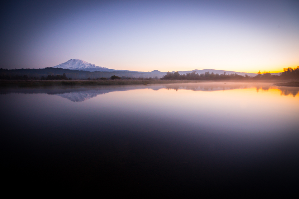 Mount Adams Trout Lake Sunrise