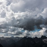 Weather looming over the North Cascades