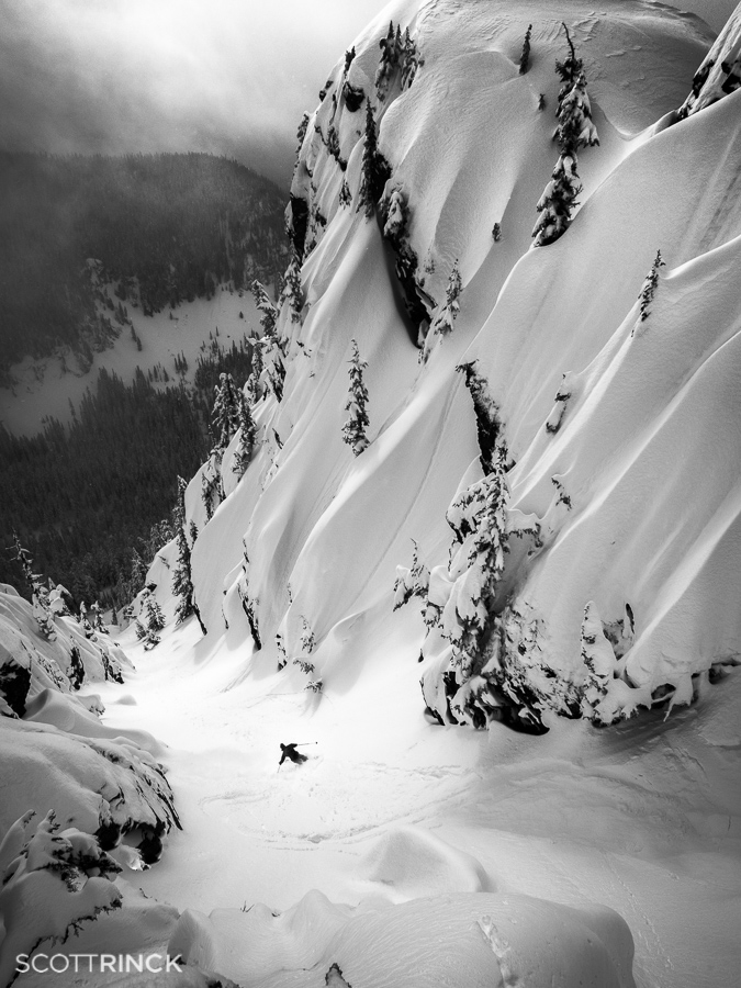 Bryce Phillips East Couloir