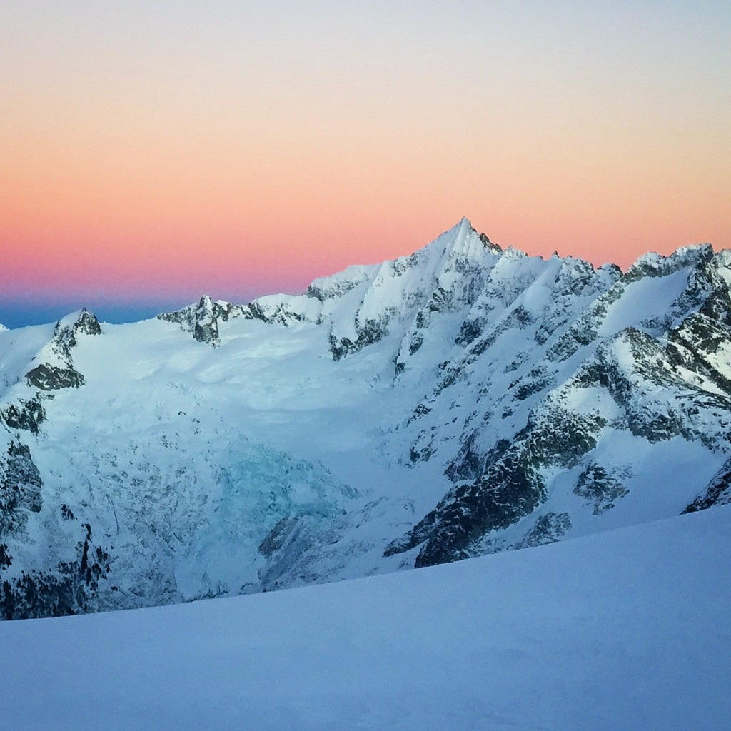 Forbidden Peak Sunset