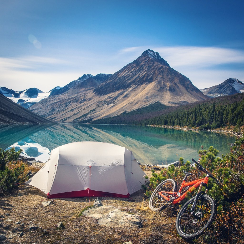 Mountain Bike Camping Chilcotins