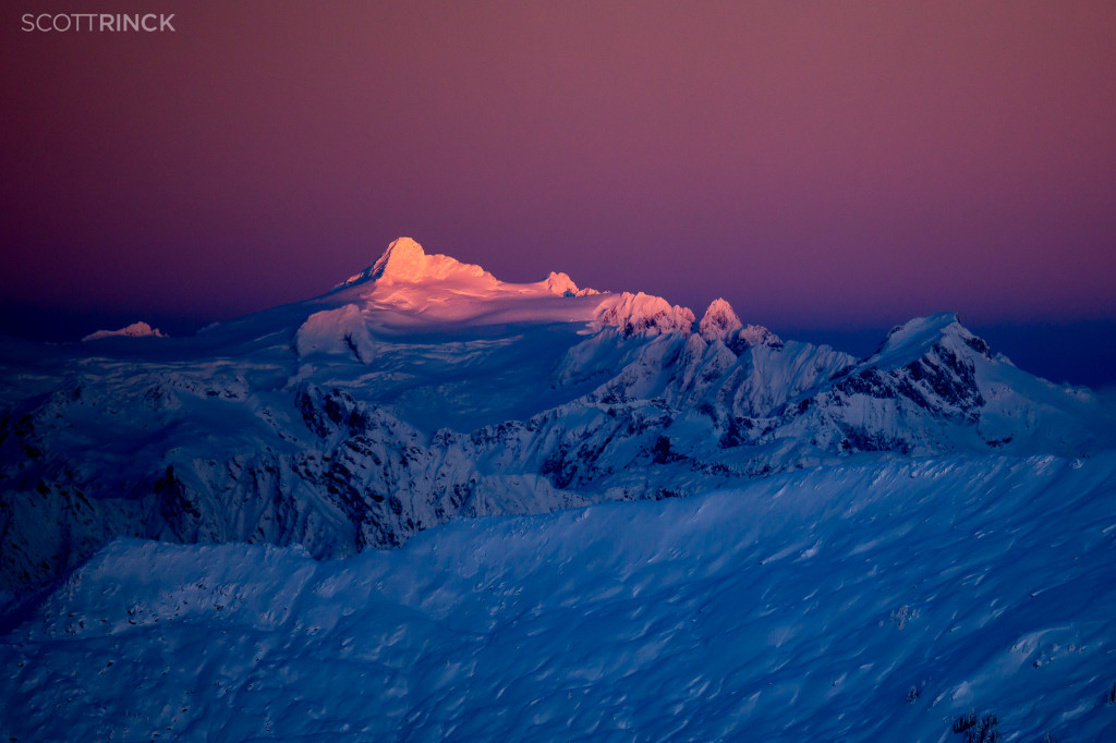 Alpenglow on Mt. Shuksan