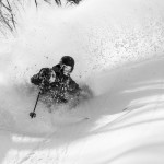Bryce Phillips experiences imperfect visibility in perfect snow