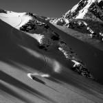 Hakuba soul rider Tomoki Fuse on the Happo North Face