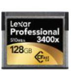 Lexar 128GB CF Card
